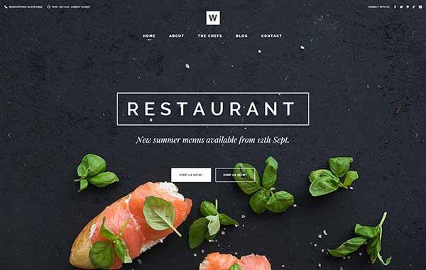 Small Business Restaurant website